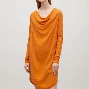 COS Dresses - COS Black Drape Neck Dress Size 4